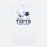 Мужская футболка TSPTR Strong To Finish White фото- 0