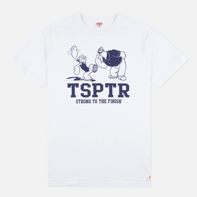 Мужская футболка TSPTR Strong To Finish White