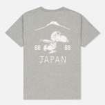 Мужская футболка TSPTR Suka Snoopy Japan Grey Marl фото- 4