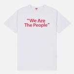 Мужская футболка TSPTR We Are The People White фото- 0