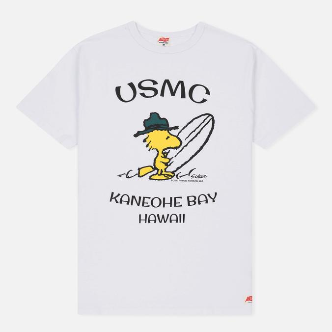 Мужская футболка TSPTR Woodstock Hawaii White