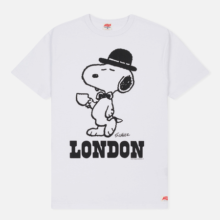 Мужская футболка TSPTR x Peanuts Vintage London City Pack White