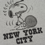 Мужская футболка TSPTR x Peanuts Vintage New York City Pack Grey Marl фото- 2