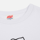 Мужская футболка TSPTR x Peanuts Vintage Paris City Pack White фото- 1