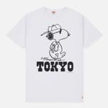 Мужская футболка TSPTR x Peanuts Vintage Tokyo City Pack White фото- 0
