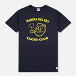 Мужская футболка TSPTR Yacht Club Navy фото- 0