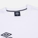 Мужская футболка Umbro Pro Training Aerotex White фото- 2