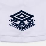 Мужская футболка Umbro Pro Training Aerotex White фото- 5
