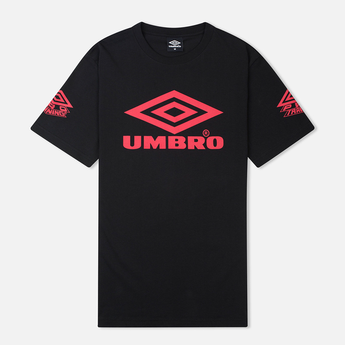 Мужская футболка Umbro Pro Training Classic Coach Crew Black