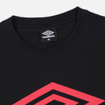 Мужская футболка Umbro Pro Training Classic Coach Crew Black фото- 1