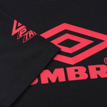 Мужская футболка Umbro Pro Training Classic Coach Crew Black фото- 3