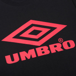 Мужская футболка Umbro Pro Training Classic Coach Crew Black фото- 2