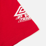 Umbro Pro Training Classic Coach Crew Men's T-shirt Red photo- 4