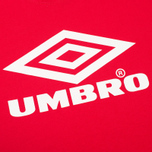 Umbro Pro Training Classic Coach Crew Men's T-shirt Red photo- 2