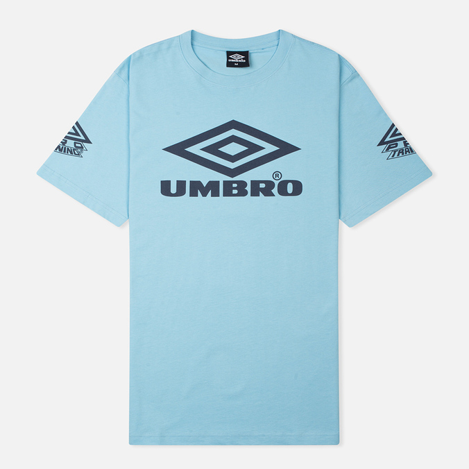 Мужская футболка Umbro Pro Training Classic Coach Crew Sky