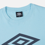 Мужская футболка Umbro Pro Training Classic Coach Crew Sky фото- 1