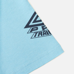 Мужская футболка Umbro Pro Training Classic Coach Crew Sky фото- 4