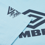 Мужская футболка Umbro Pro Training Classic Coach Crew Sky фото- 3