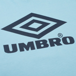 Мужская футболка Umbro Pro Training Classic Coach Crew Sky фото- 2