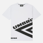 Мужская футболка Umbro x House Of Holland Half Diamond White фото- 0
