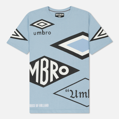 Мужская футболка Umbro x House Of Holland Multi Logo Blue