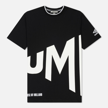 Мужская футболка Umbro x House Of Holland Wrap Text Regular Black