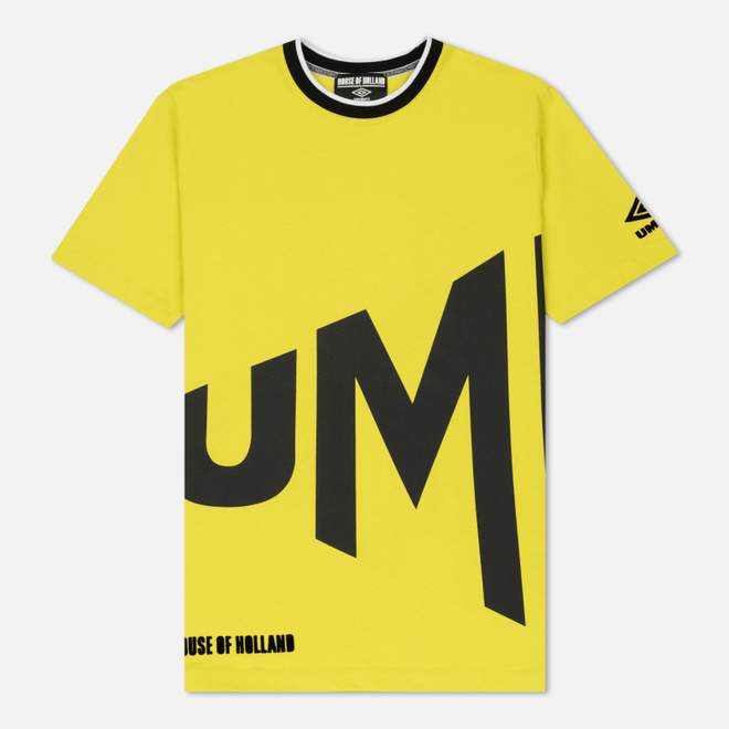 Мужская футболка Umbro x House Of Holland Wrap Text Regular Lime