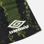 Мужская футболка Umbro x House Of Holland Snake Print Collared Football Top Green фото- 4