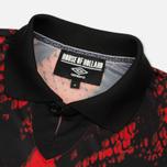 Мужская футболка Umbro x House Of Holland Snake Print Collared Football Top Red фото- 1