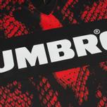 Мужская футболка Umbro x House Of Holland Snake Print Collared Football Top Red фото- 2