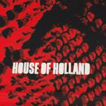 Мужская футболка Umbro x House Of Holland Snake Print Collared Football Top Red фото- 3