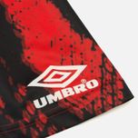 Мужская футболка Umbro x House Of Holland Snake Print Collared Football Top Red фото- 4