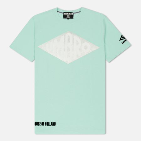 Мужская футболка Umbro x House Of Holland Vintage Logo Foil Print Mint