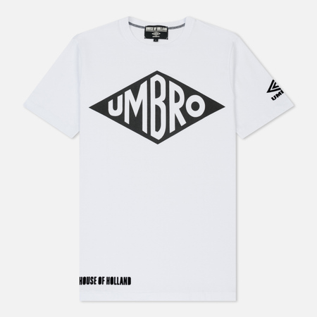 Мужская футболка Umbro x House Of Holland Vintage Logo Foil Print White