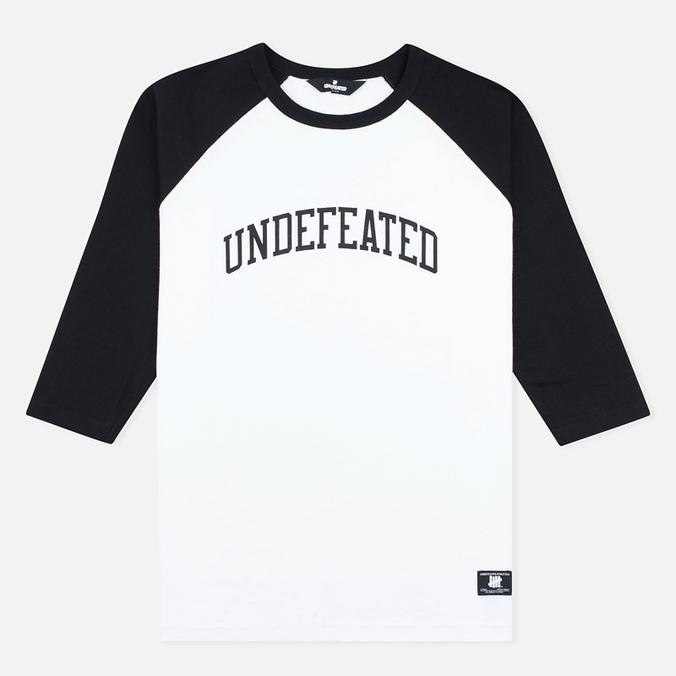 Мужская футболка Undefeated 3/4 Field Raglan Black