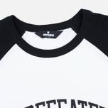 Мужская футболка Undefeated 3/4 Field Raglan Black фото- 1
