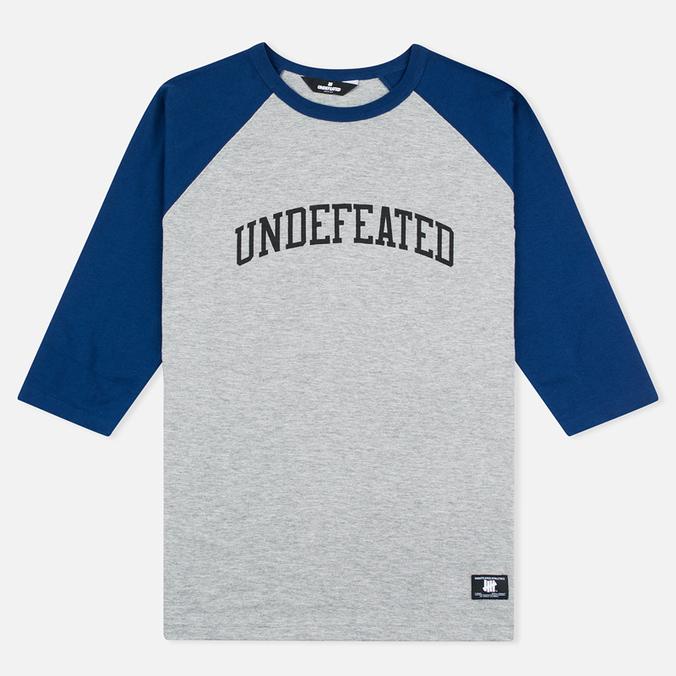 Мужская футболка Undefeated 3/4 Field Raglan Navy