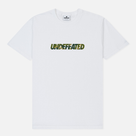Мужская футболка Undefeated Camo Undefeated White