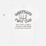 Мужская футболка Undefeated Fight Club White фото- 1