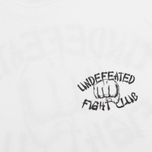 Мужская футболка Undefeated Fight Club White фото- 3
