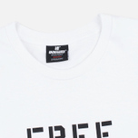 Undefeated Free Pete Men's T-shirt White photo- 1