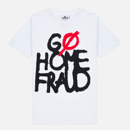 Undefeated Go Home Fraud Men's T-Shirt White