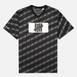 Мужская футболка Undefeated Hooligan Jersey Black фото- 0