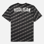 Мужская футболка Undefeated Hooligan Jersey Black фото- 1