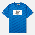 Undefeated Hooligan Jersey Men's T-shirt Blue photo- 0