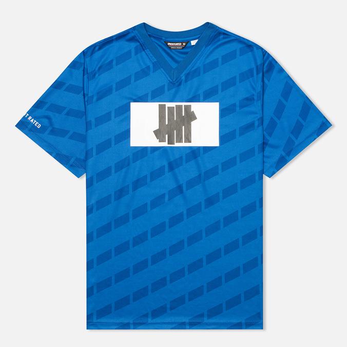 Мужская футболка Undefeated Hooligan Jersey Blue