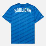 Undefeated Hooligan Jersey Men's T-shirt Blue photo- 1