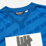 Undefeated Hooligan Jersey Men's T-shirt Blue photo- 2