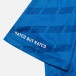 Мужская футболка Undefeated Hooligan Jersey Blue фото- 5