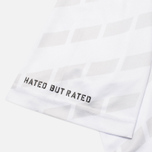 Мужская футболка Undefeated Hooligan Jersey White фото- 5